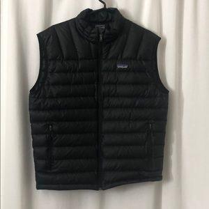 Men's Patagonia Black Puff Vest M